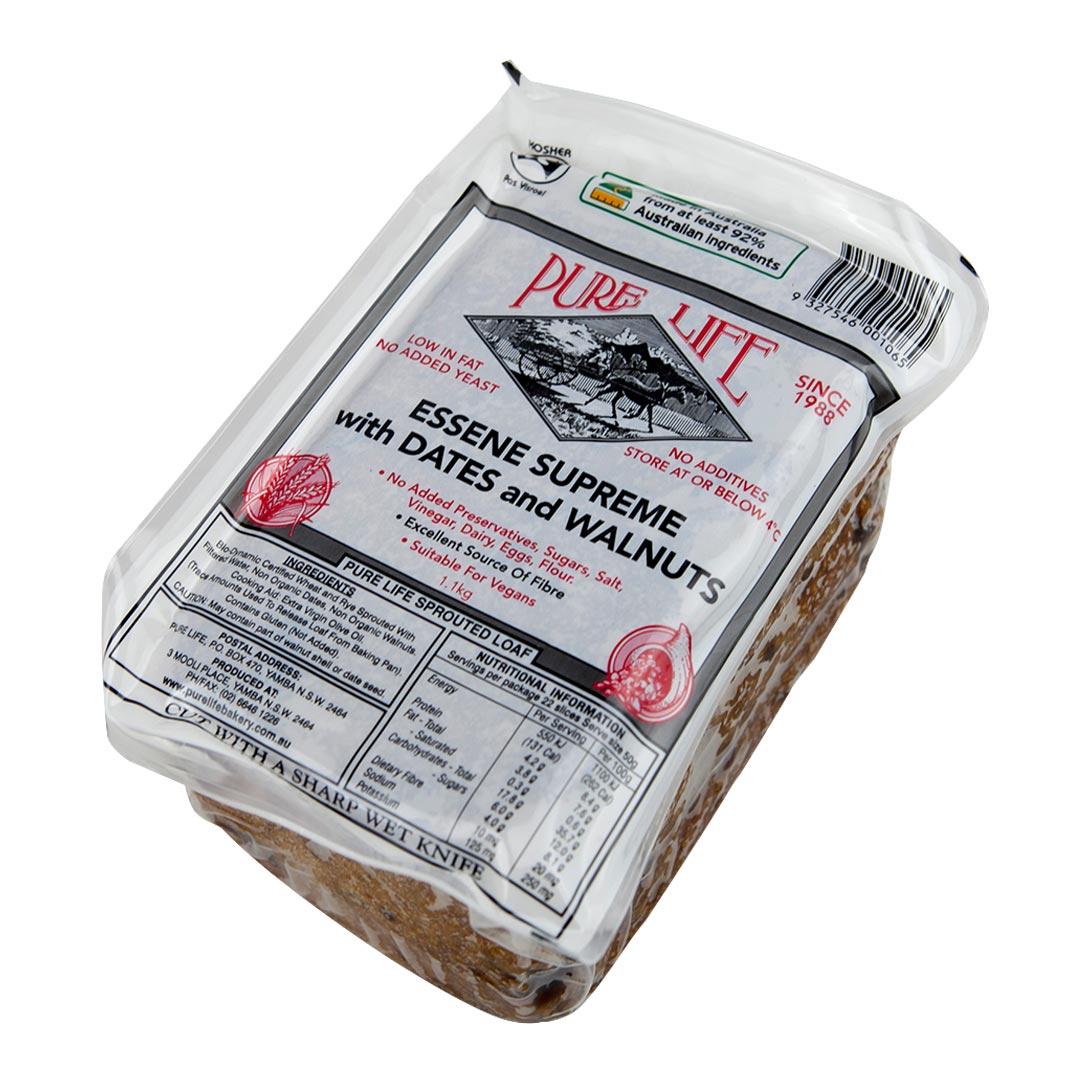 Sprouted Essene Date & Walnut 1kg