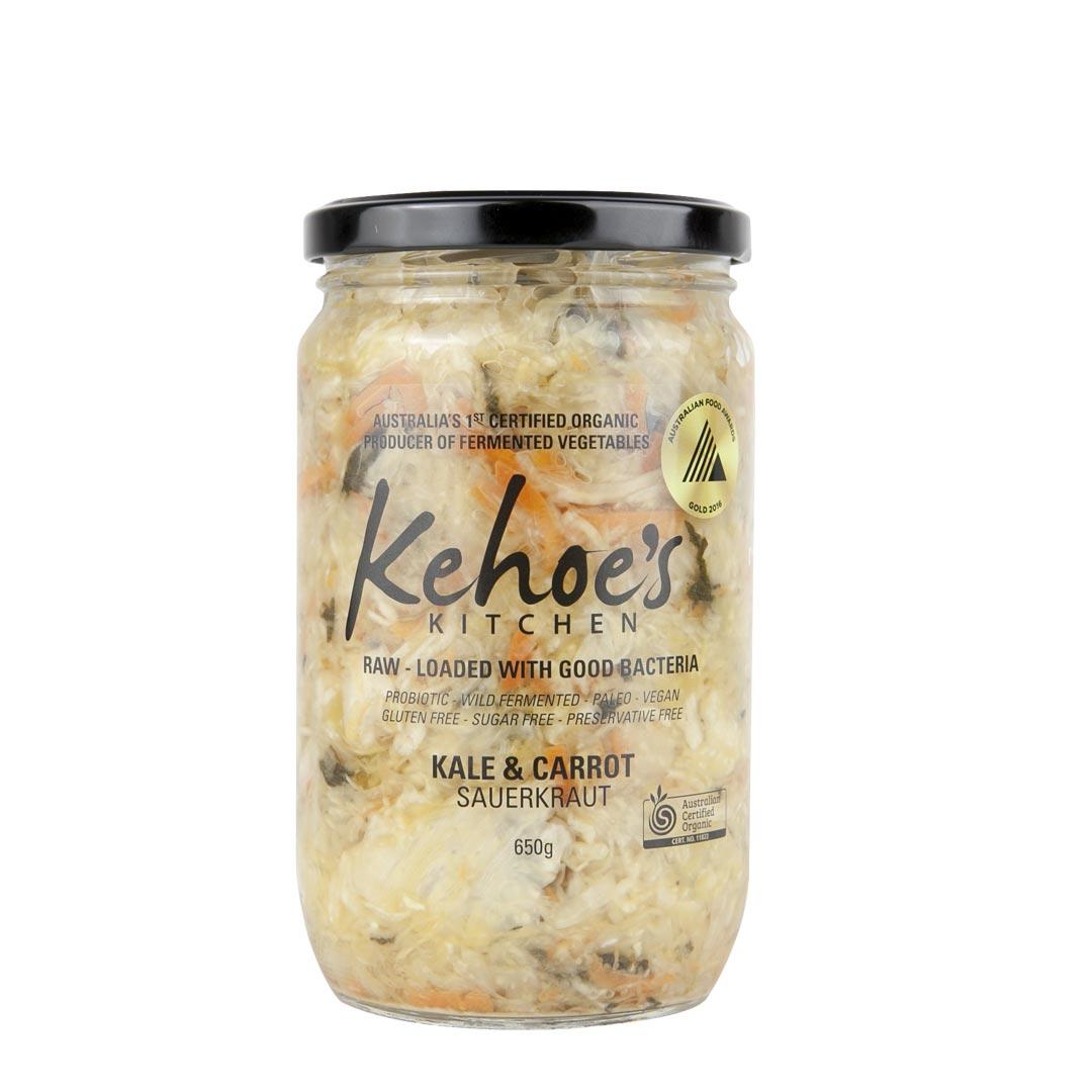Sauerkraut – Kale & Carrot 650g