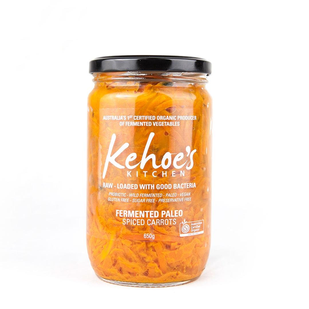 Sauerkraut – Spiced Carrot 650g