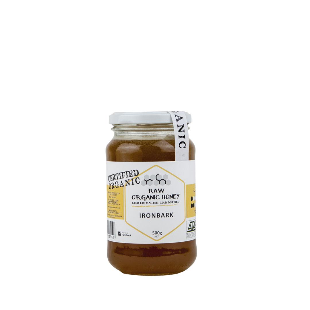 Raw Honey – Ironbark 500g