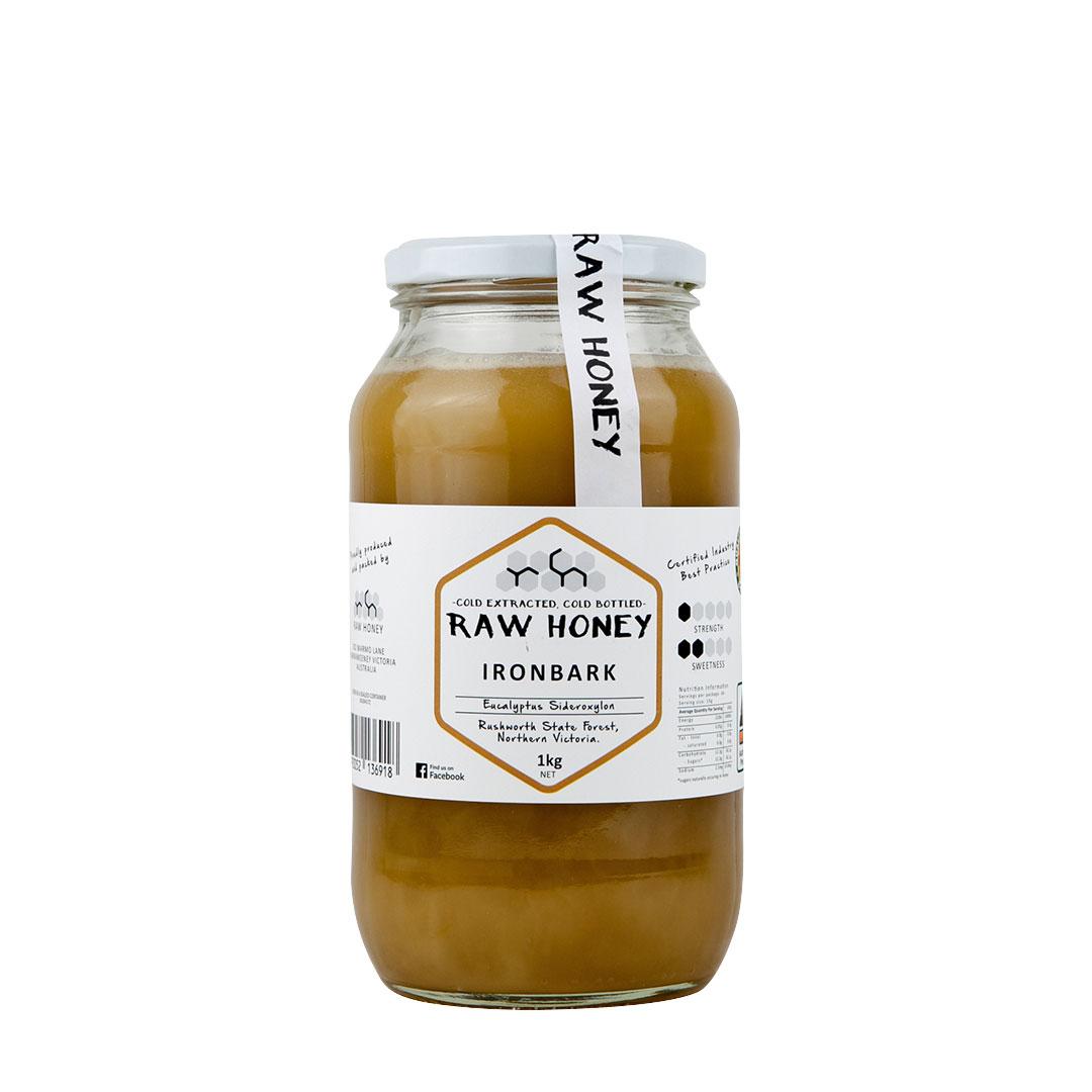Raw Honey – Ironbark 1kg