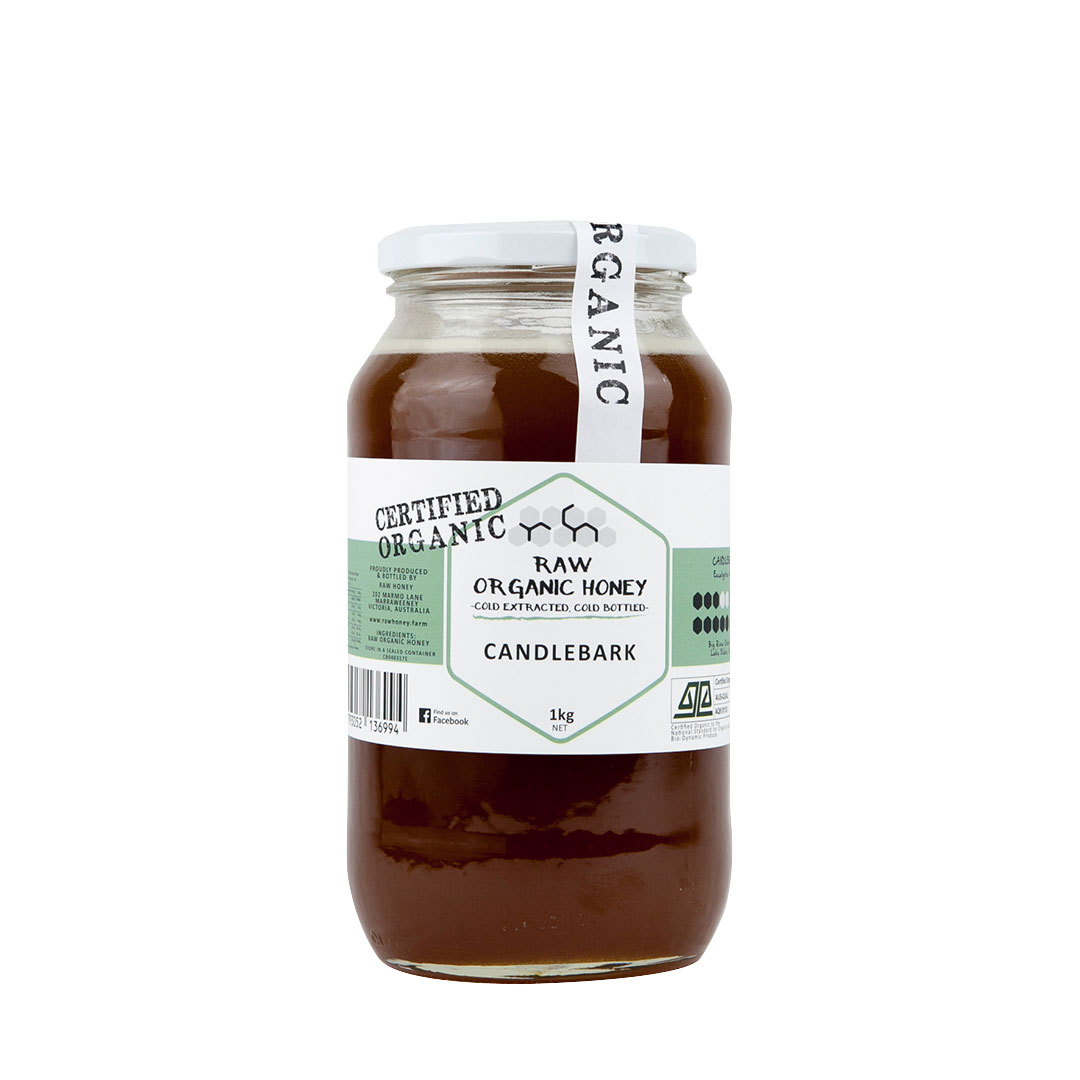 Raw Honey – Candlebark 1kg