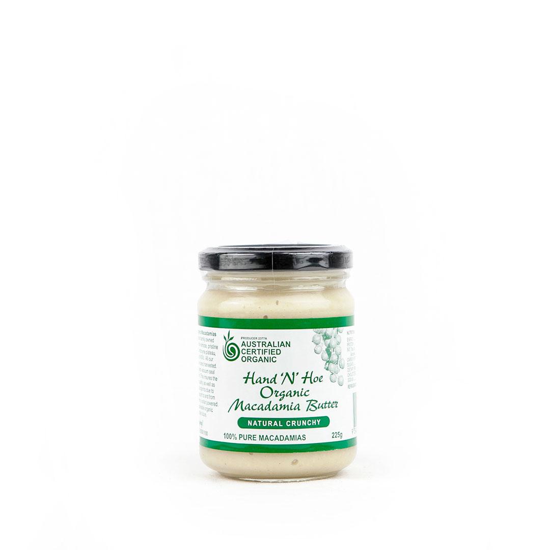 Macadamia Butter – Crunchy 225g