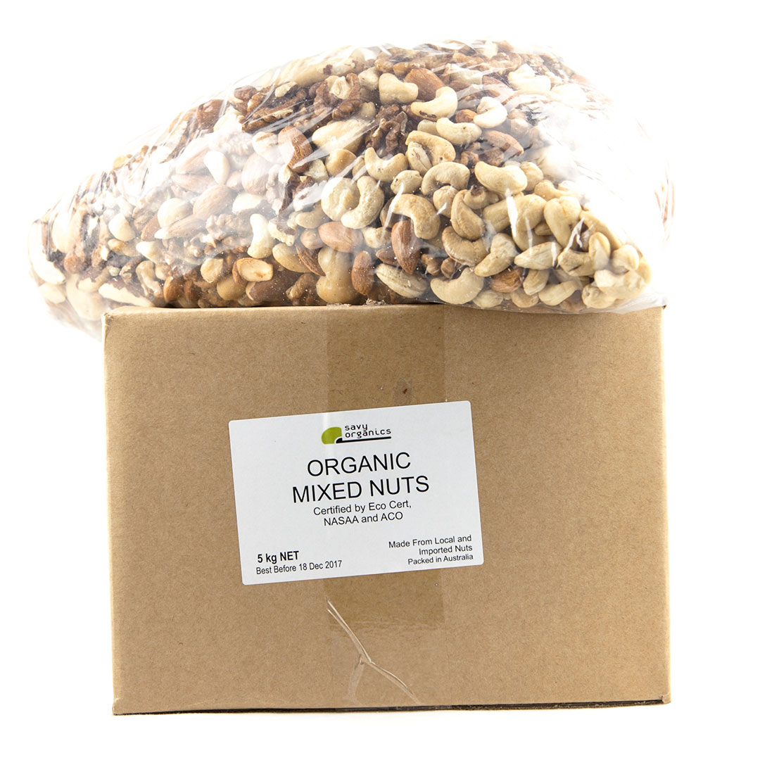 Mixed Nuts Raw 5kg