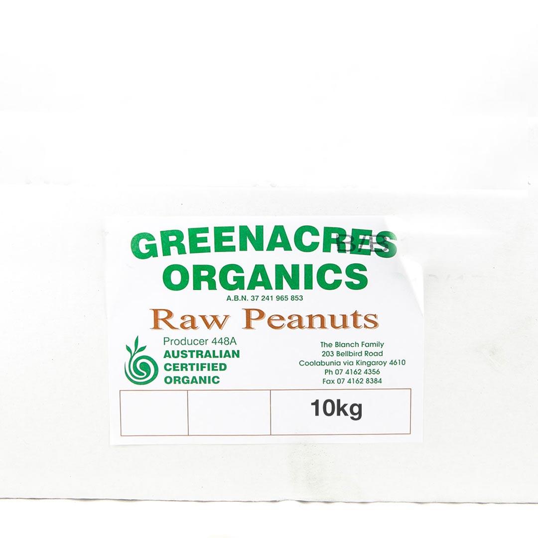 Peanuts – Raw 10kg