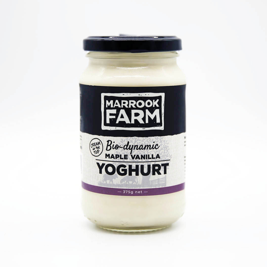 Yoghurt – Maple Vanilla 375g