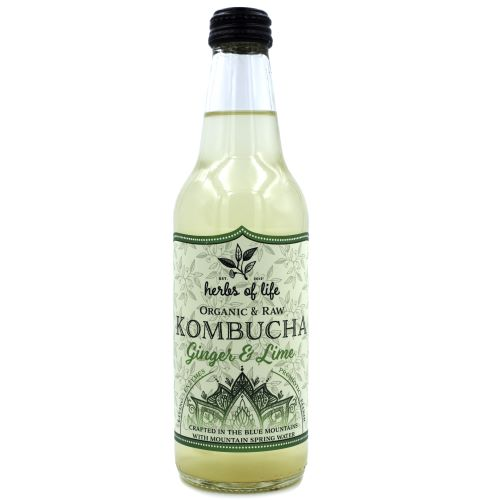 Kombucha – Ginger & Lime 12 x 330ml