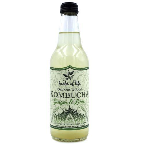 Kombucha – Ginger & Lime 12 x 330ml