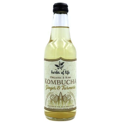 Kombucha – Ginger & Turmeric 12 x 330ml