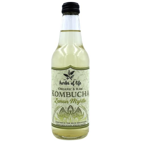 Kombucha – Lemon Myrtle 12 x 330ml