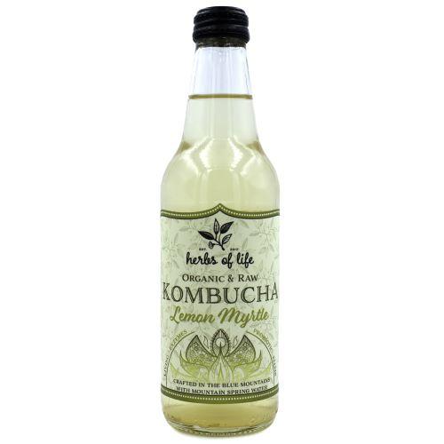 Kombucha – Lemon Myrtle 12 x 330ml