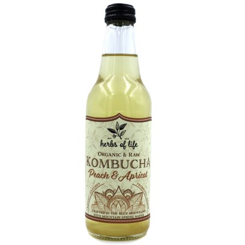 Kombucha – Peach & Apricot 12 x 330ml