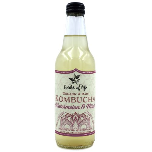 Kombucha – Watermelon & Mint 12 x 330ml