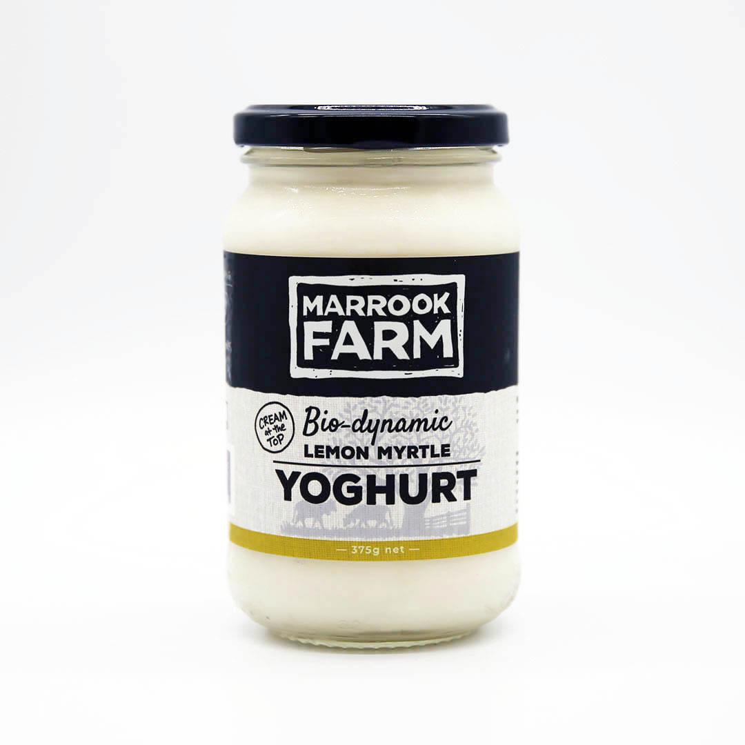 Yoghurt – Lemon Myrtle 375g