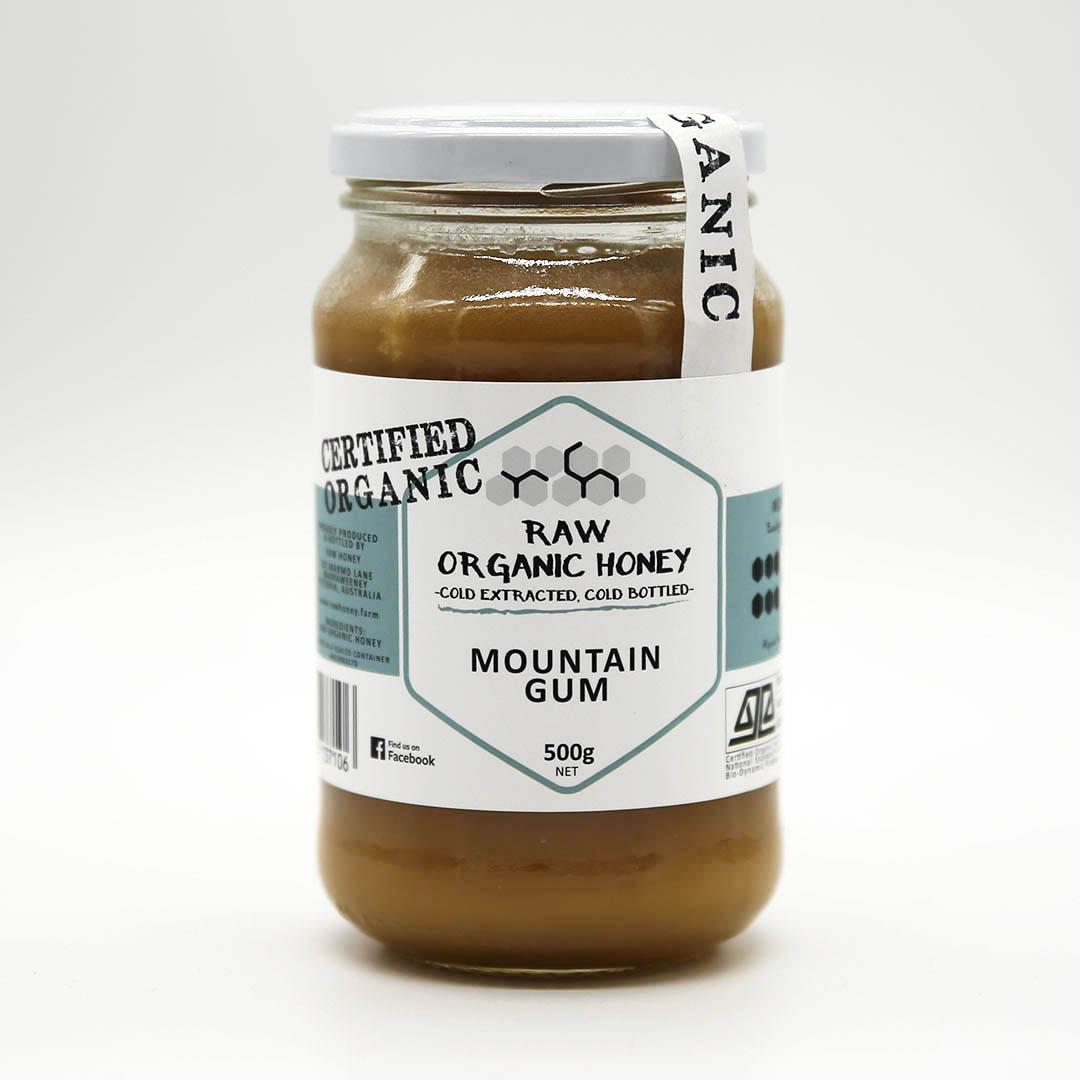 Raw Honey – Mountain Gum 500g