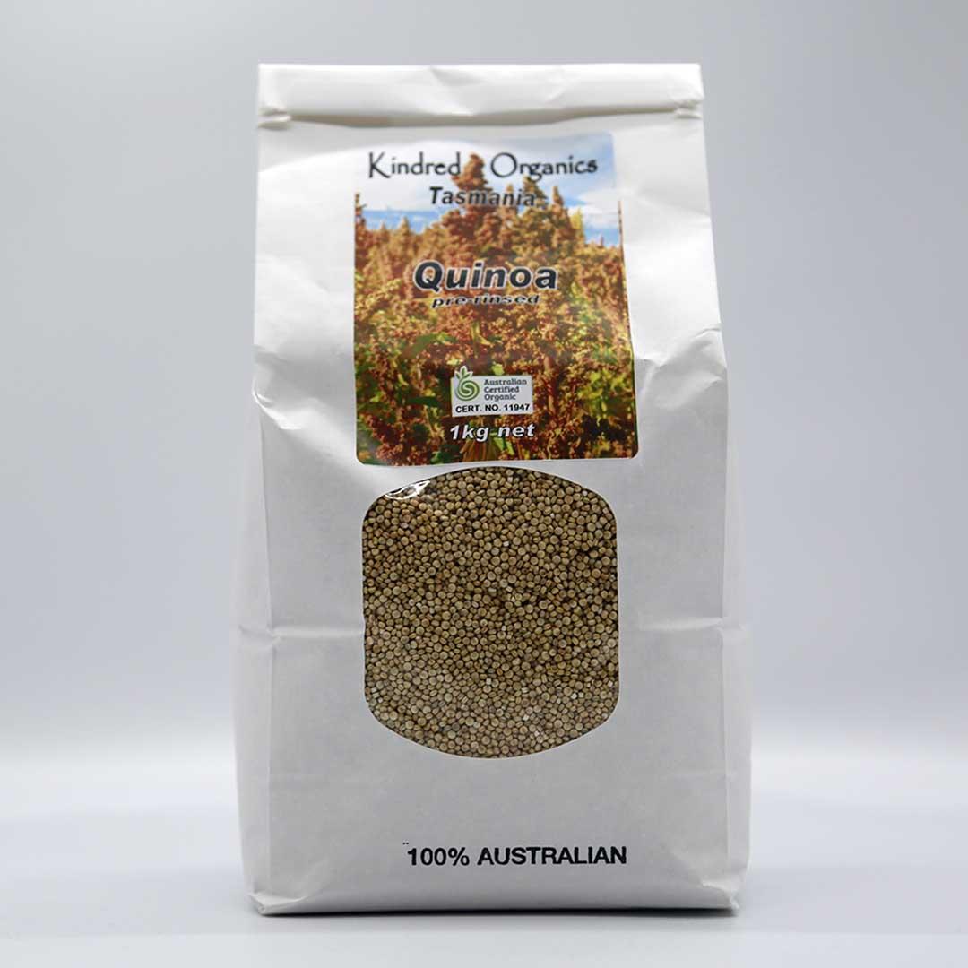 """Quinoa – White """"Pre Washed"""" 1kg"""