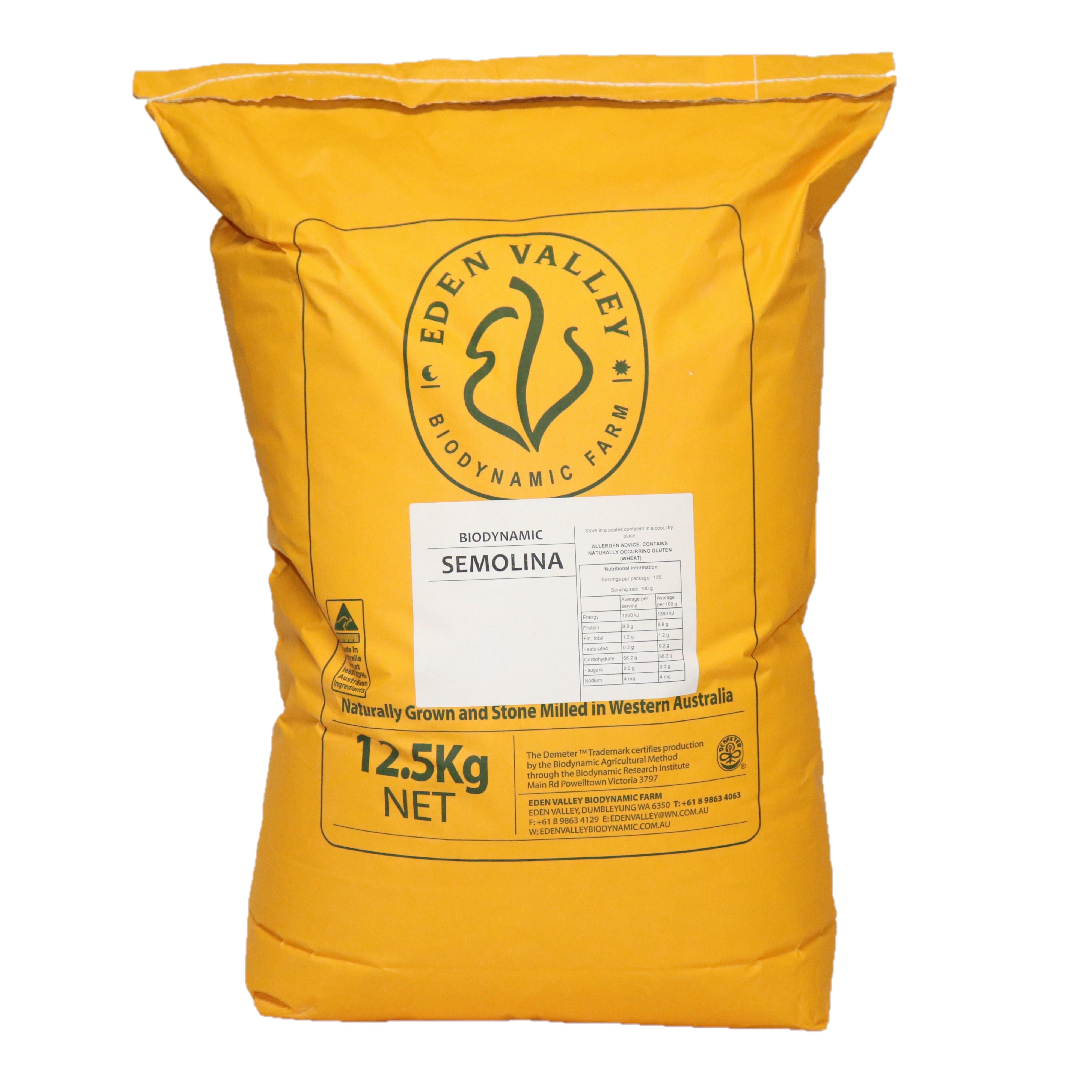 Semolina (Durum) 12.5kg