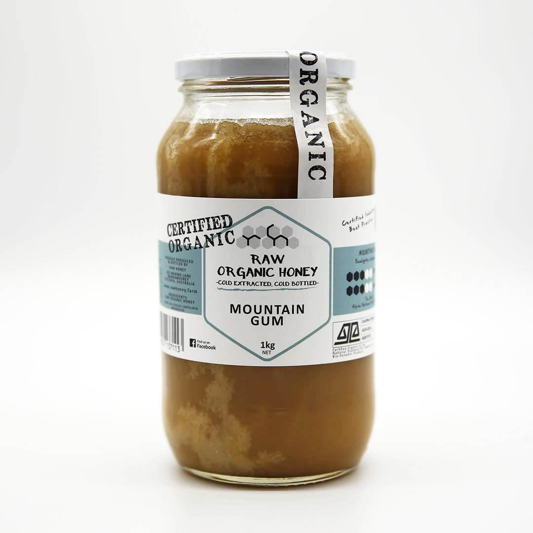 Raw Honey – Mountain Gum 1kg