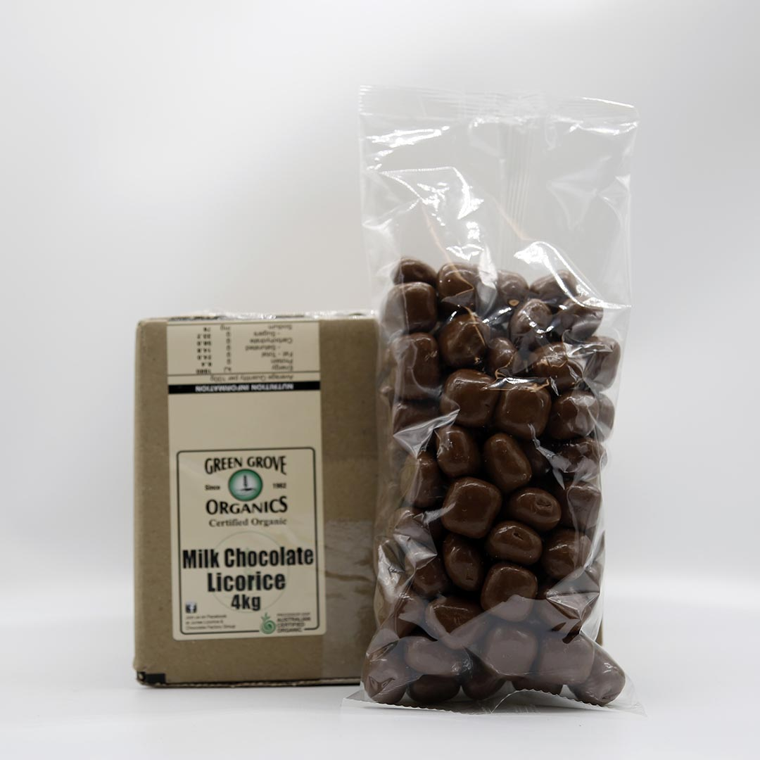 Licorice – Milk Chocolate 4kg