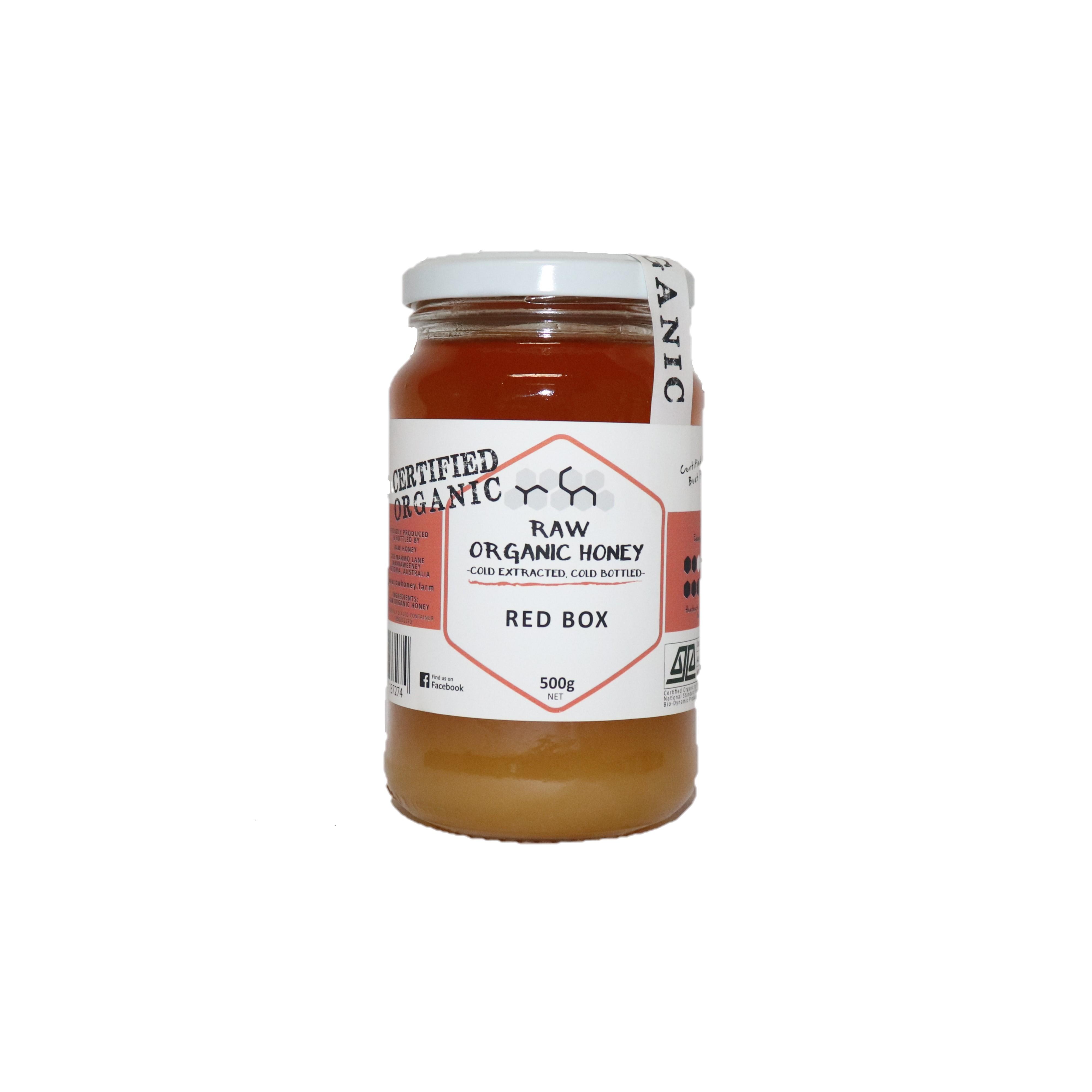 Raw Honey – Red Box 500g