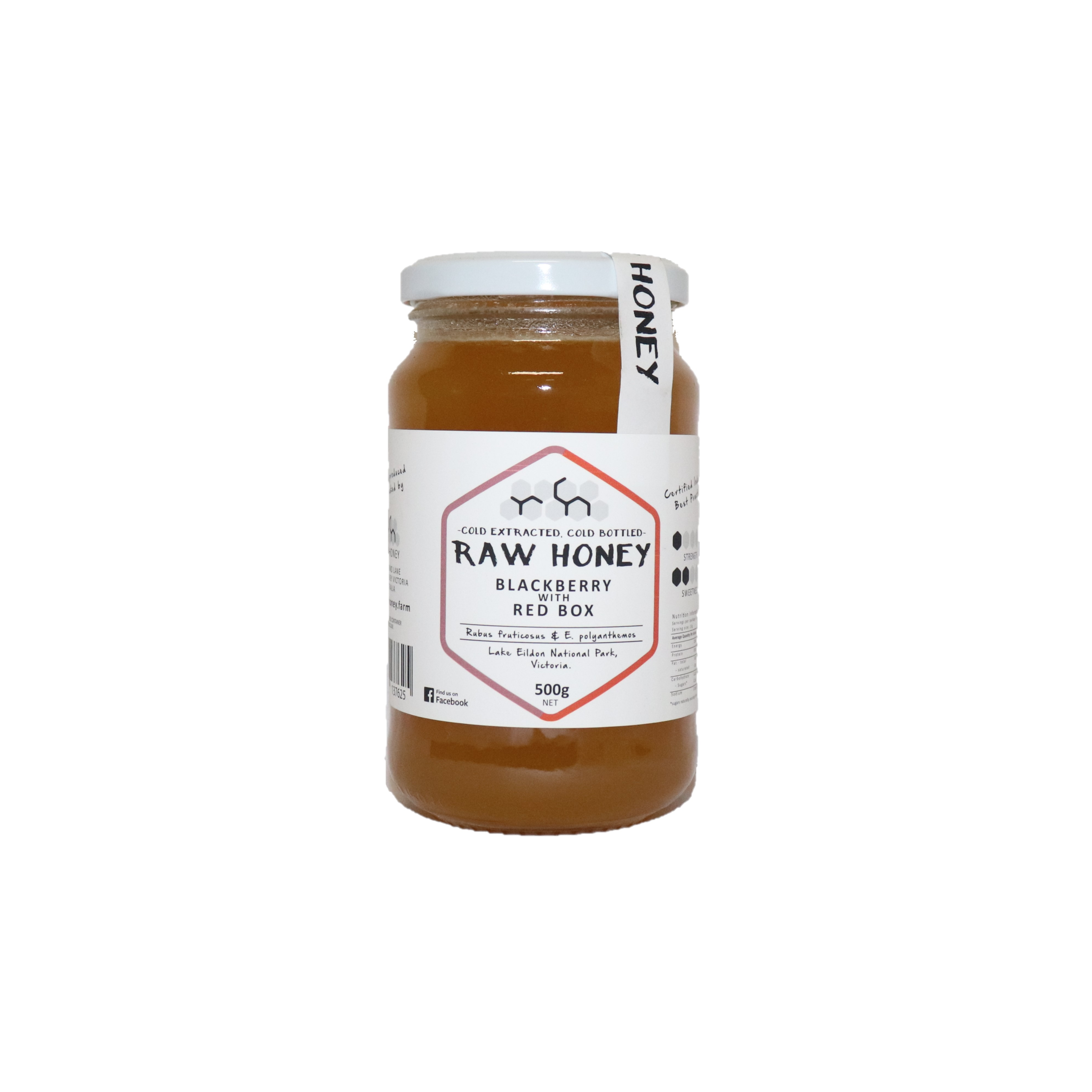 Raw Honey – Blackberry with Red Box 500g