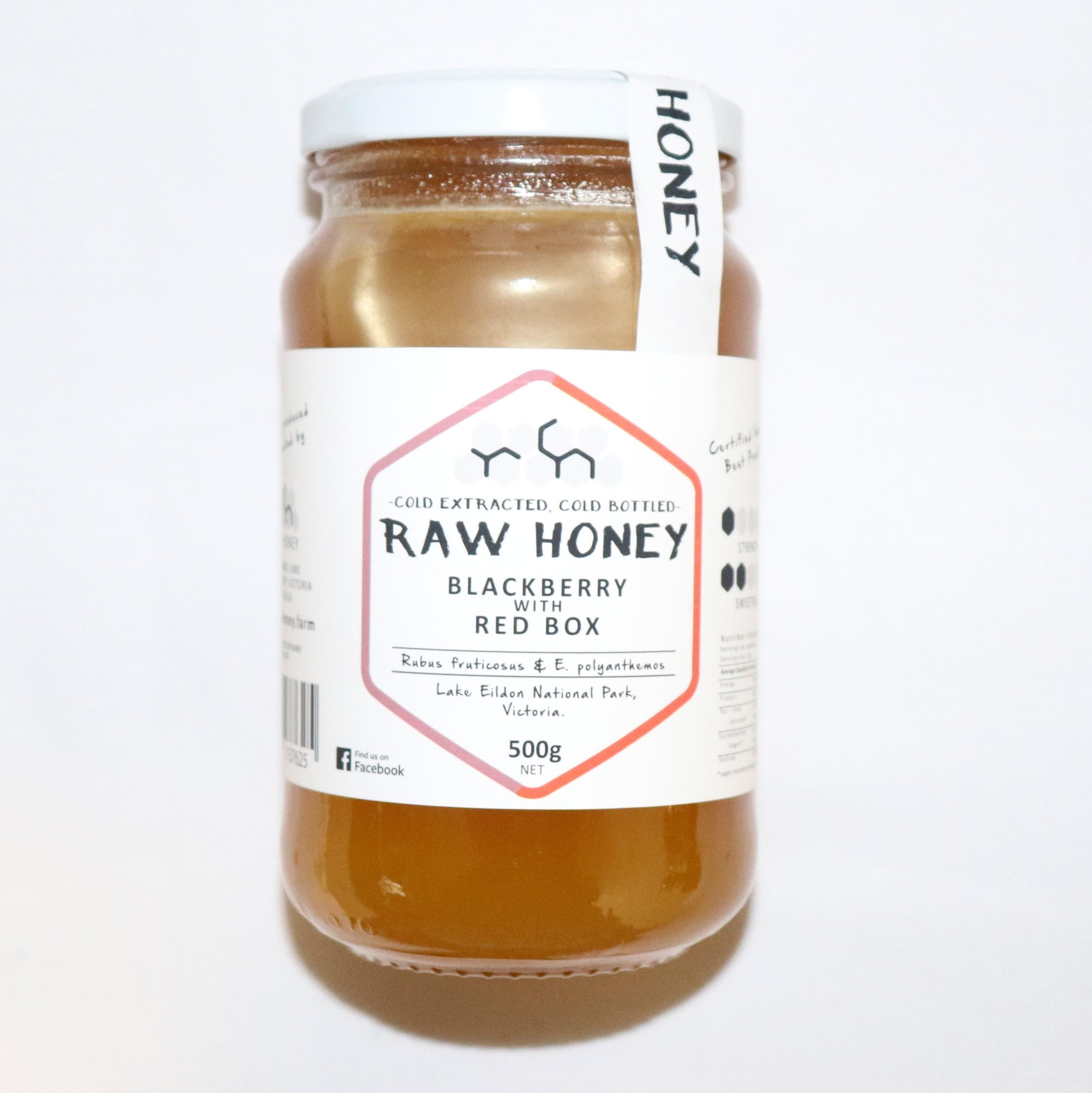 Raw Honey – Blackberry with Red Box 500g