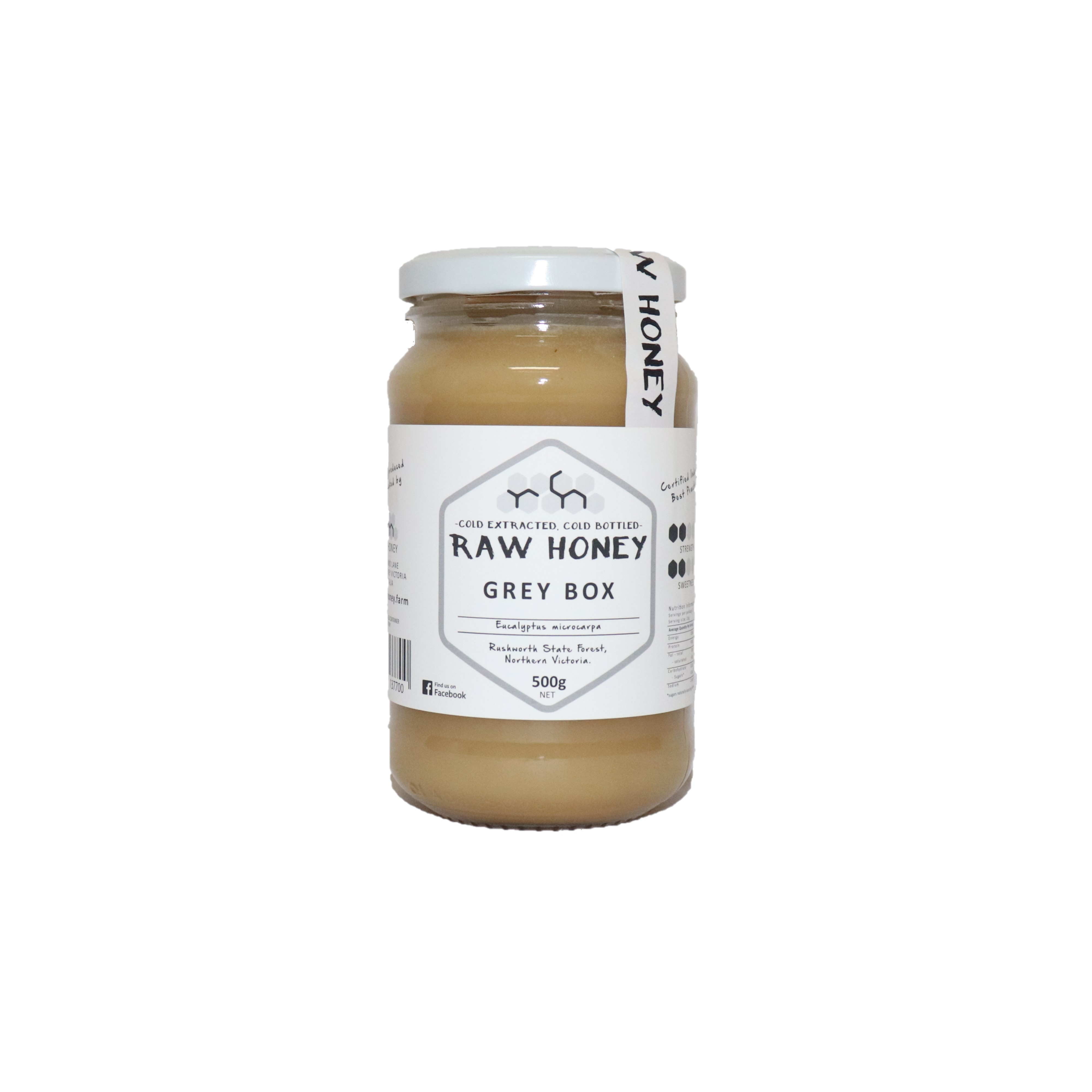 Raw Honey – Greybox 500g