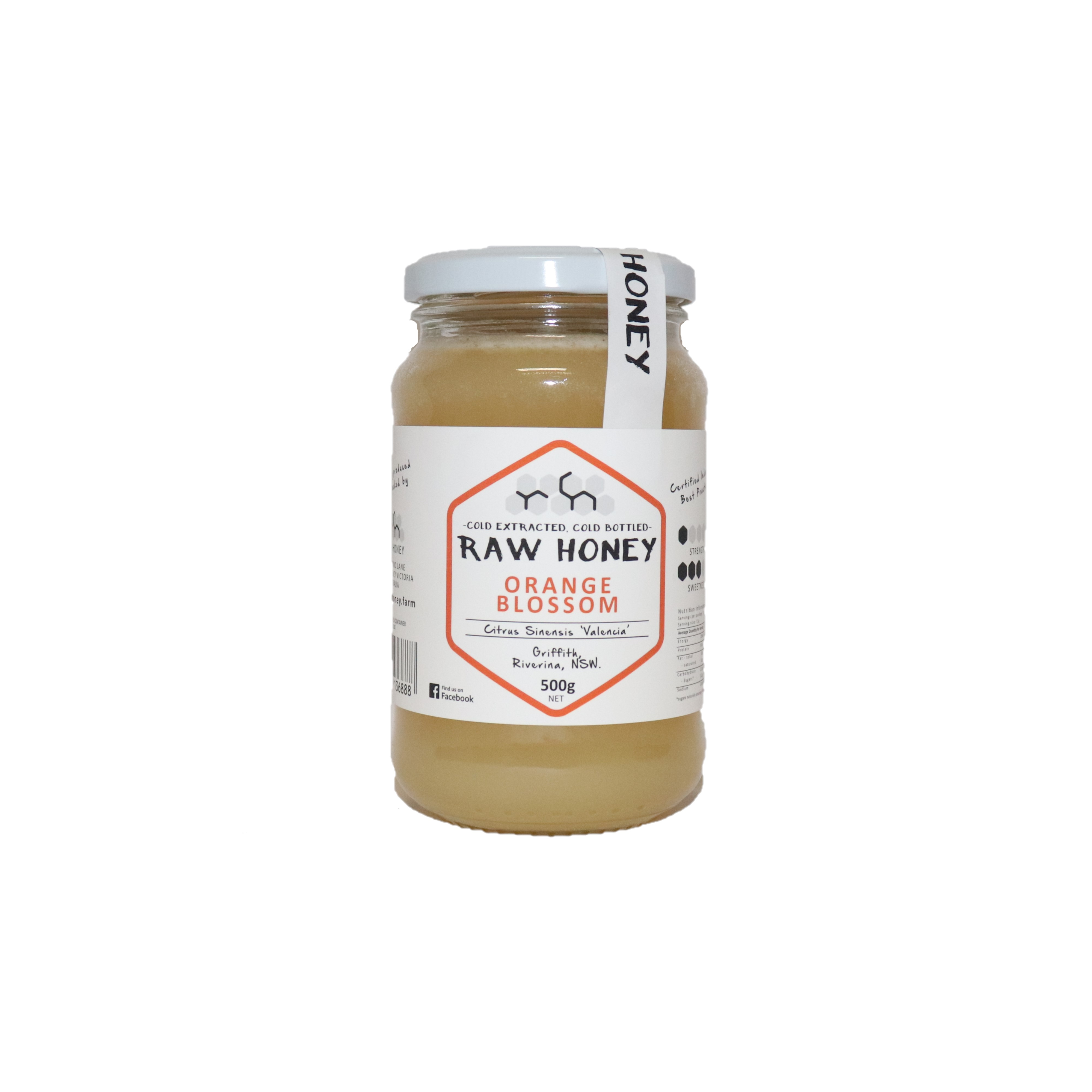 Raw Honey – Orange Blossom 500g