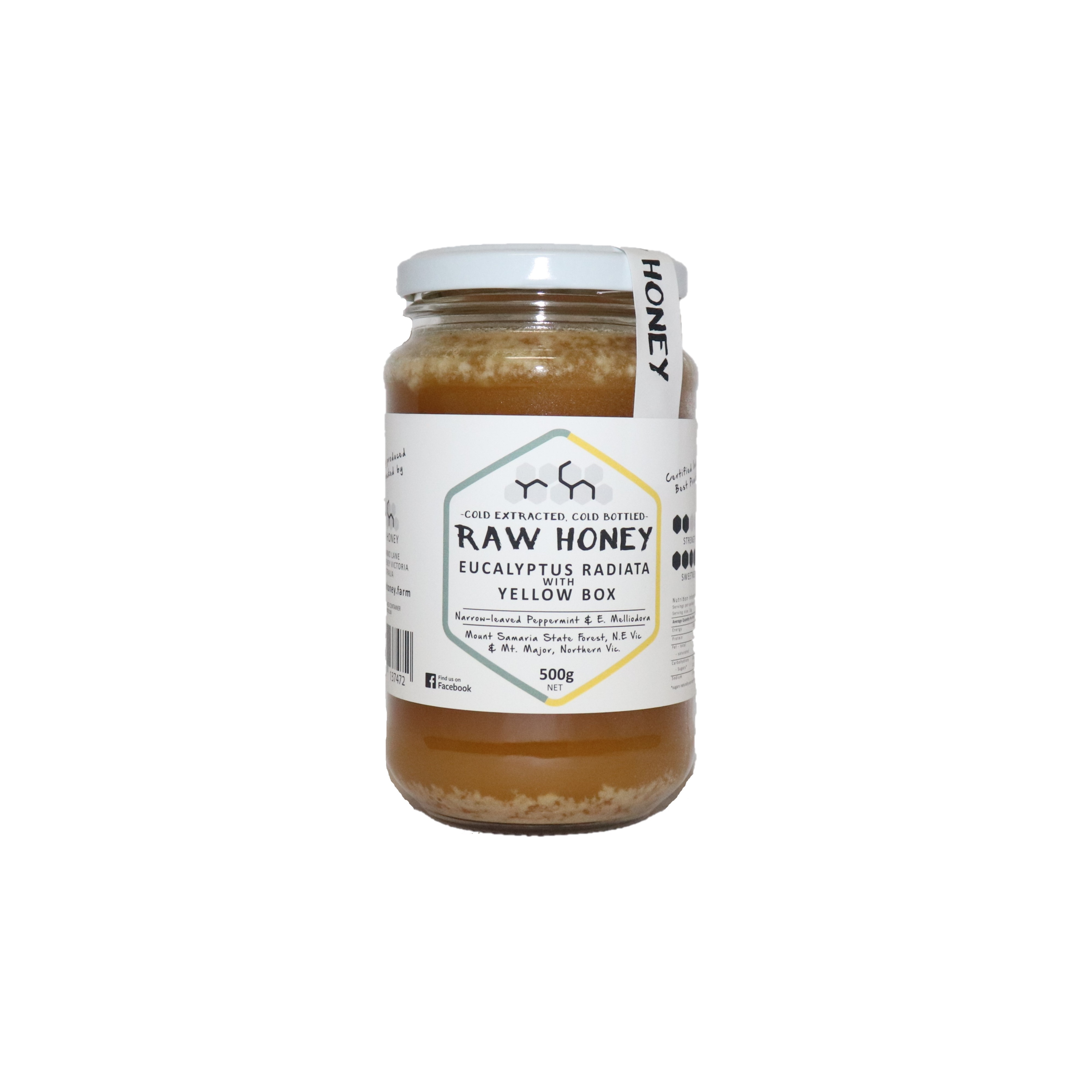 Raw Honey – Eucalyptus with Yellow Box 500g