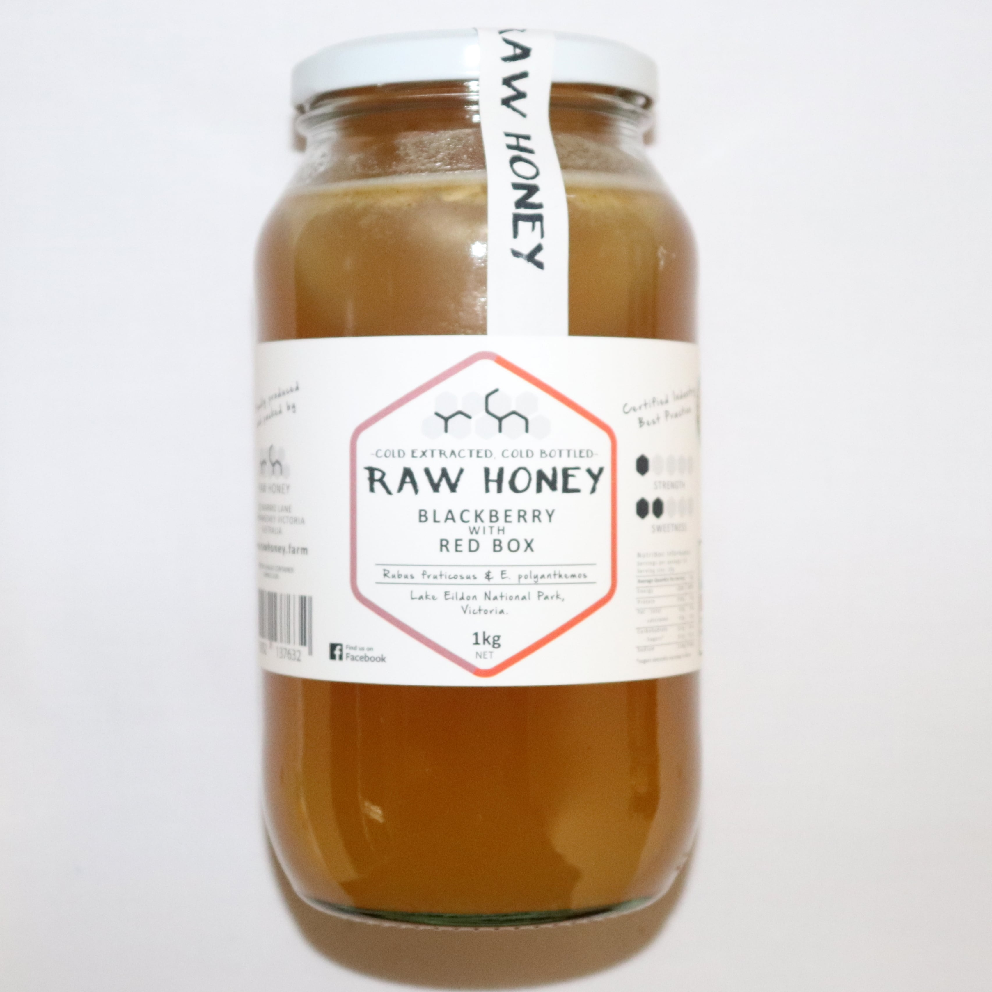 Raw Honey – Blackberry with Red Box 1kg
