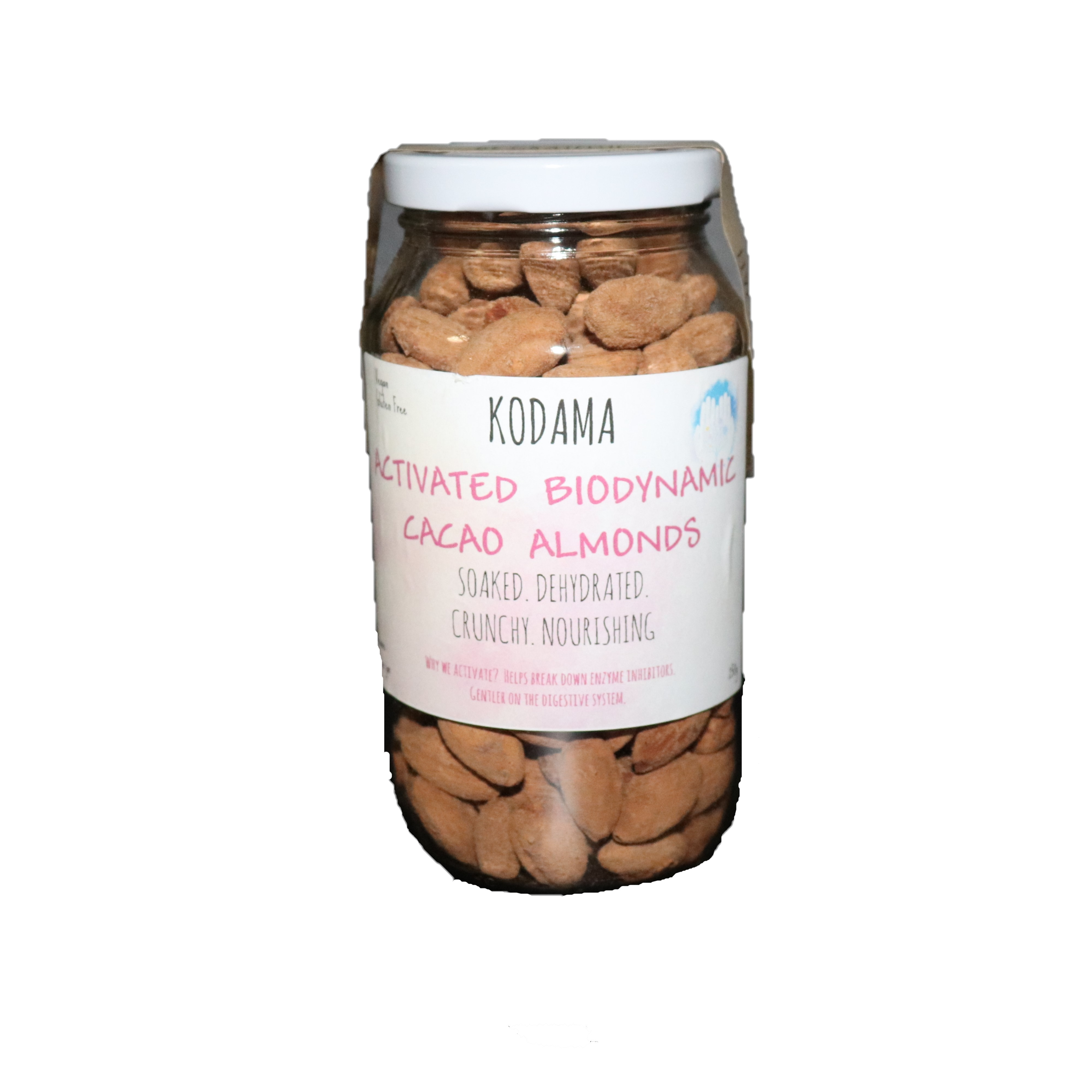 Almonds Cacao – Activated 250g