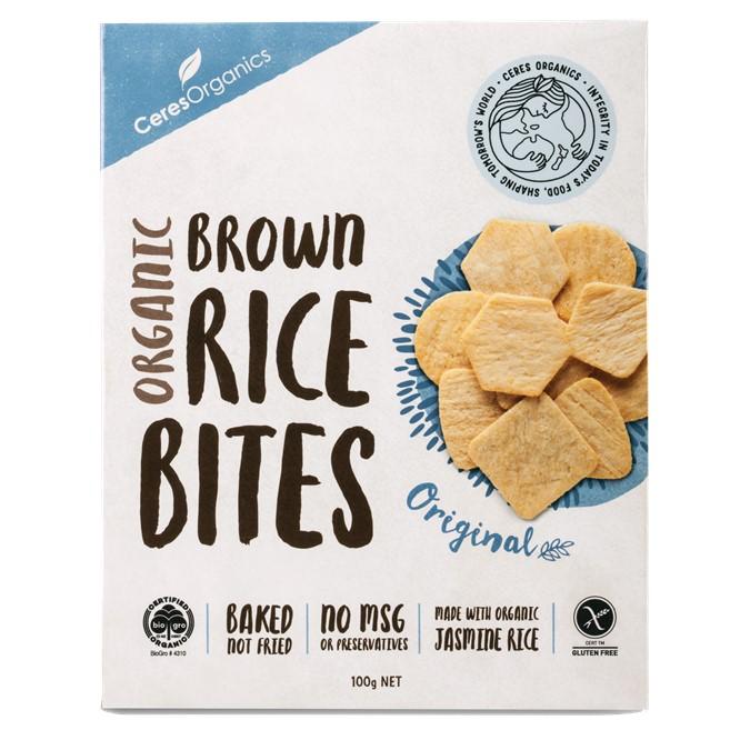 Rice Bites Brown Original 12 x 100g