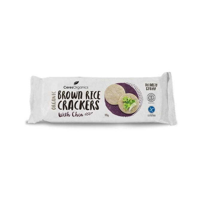 Crackers – Brown Rice Chia 12x115g