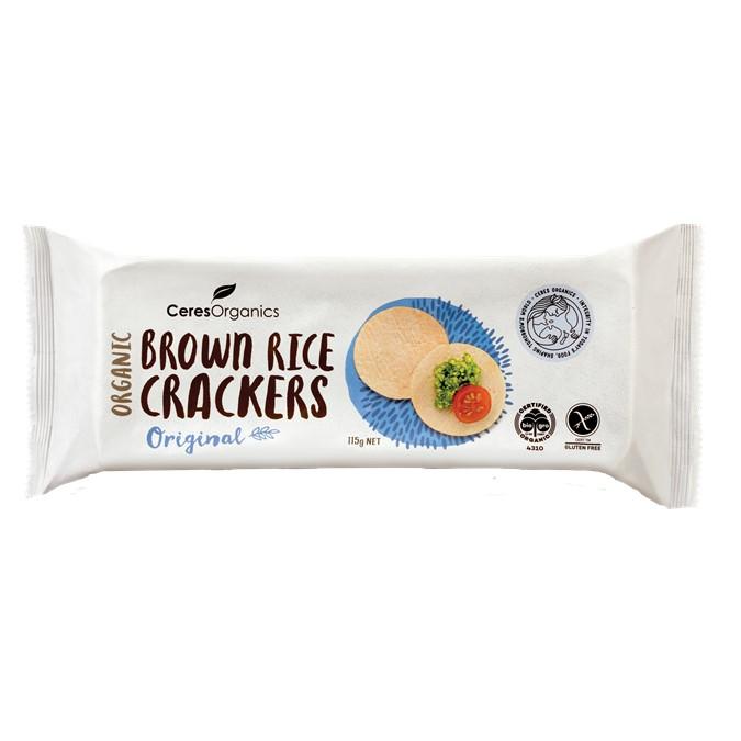 Crackers – Brown Rice 12x115g