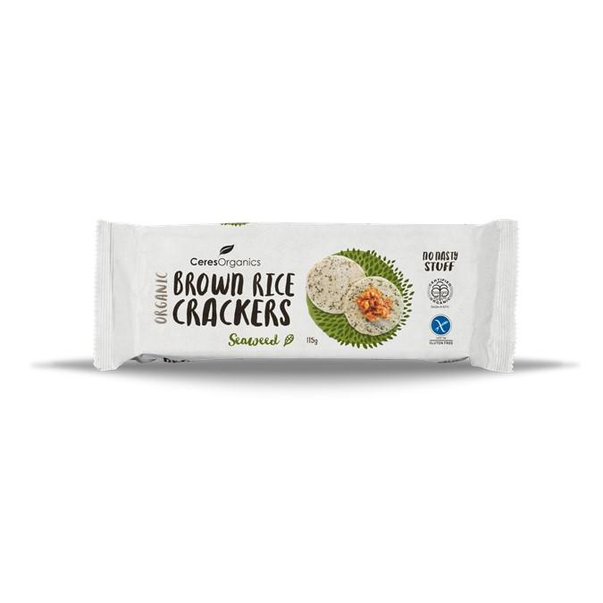 Crackers – Brown Rice Seaweed 12x115g