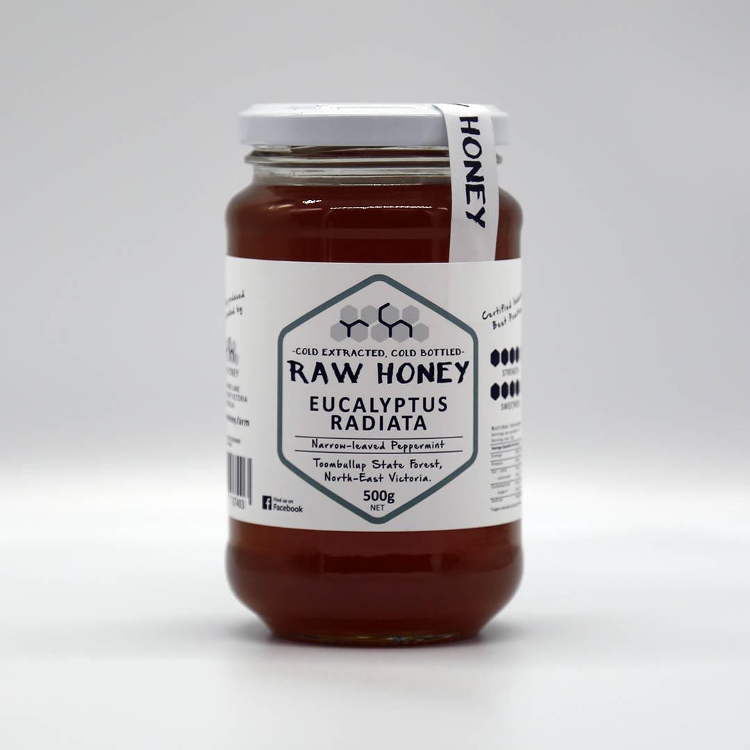 Raw Honey – Eucalyptus Radiata 1kg