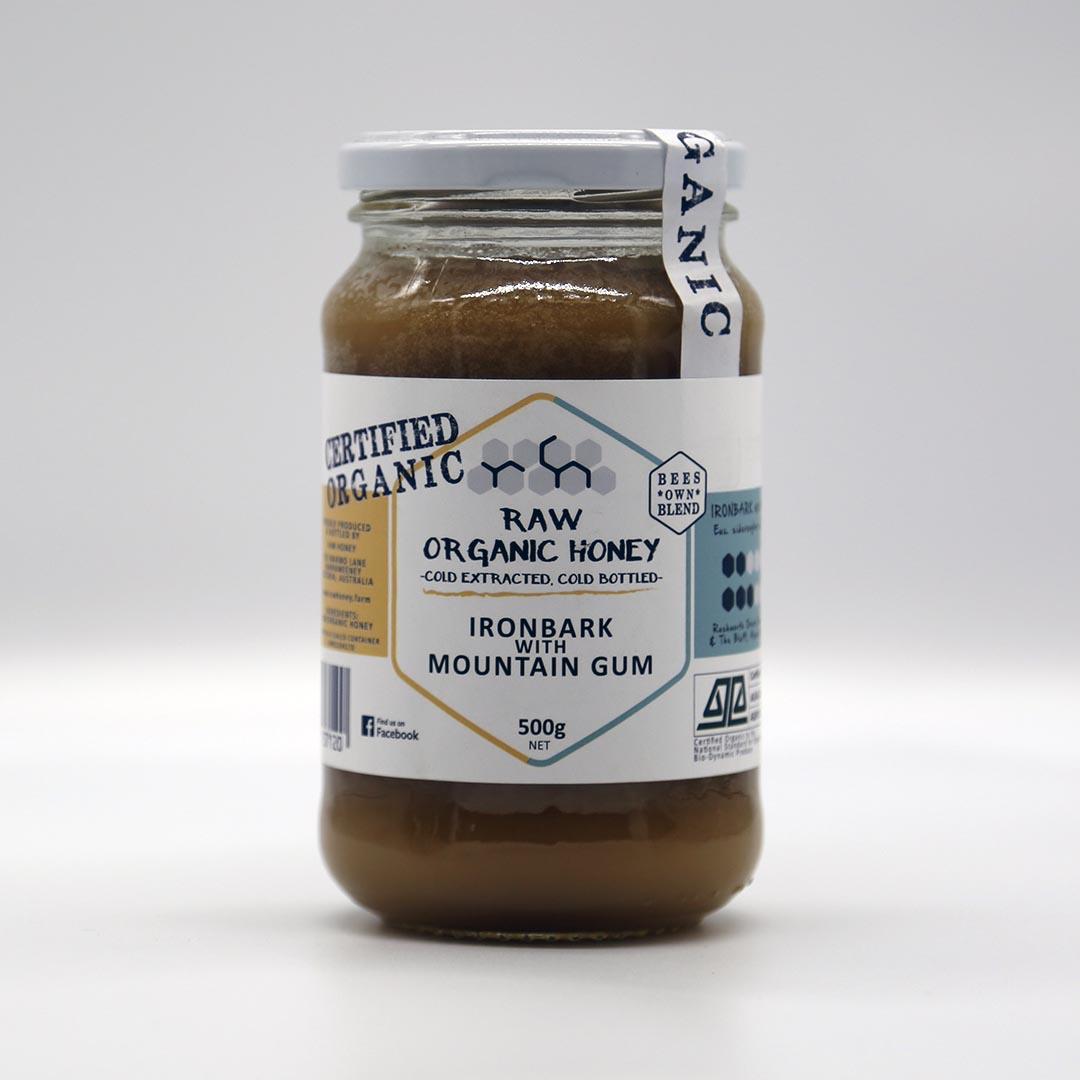 Raw Honey – Ironbark with Mountain Gum 500g