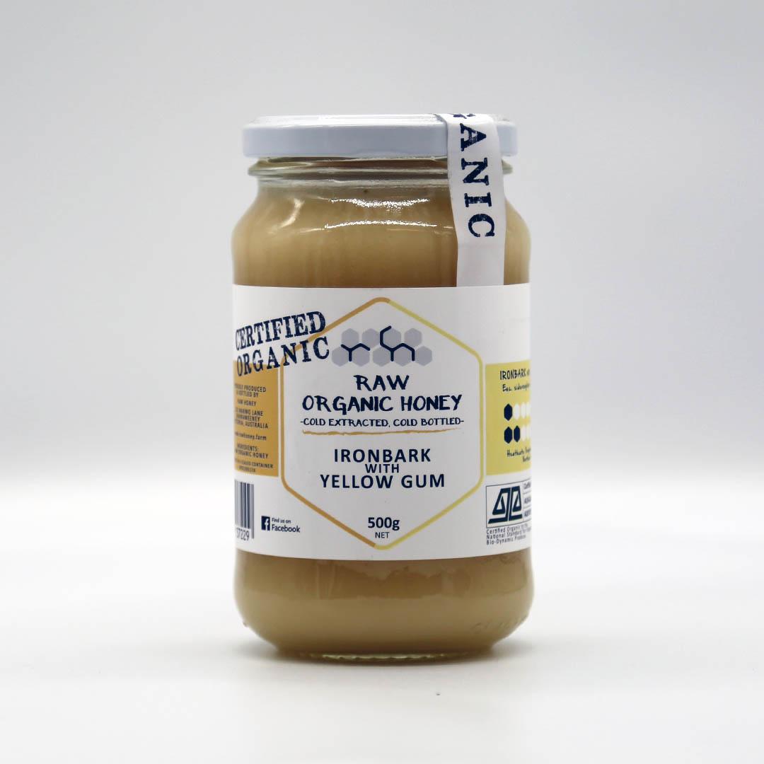 Raw Honey – Ironbark and Yellow Gum 500g