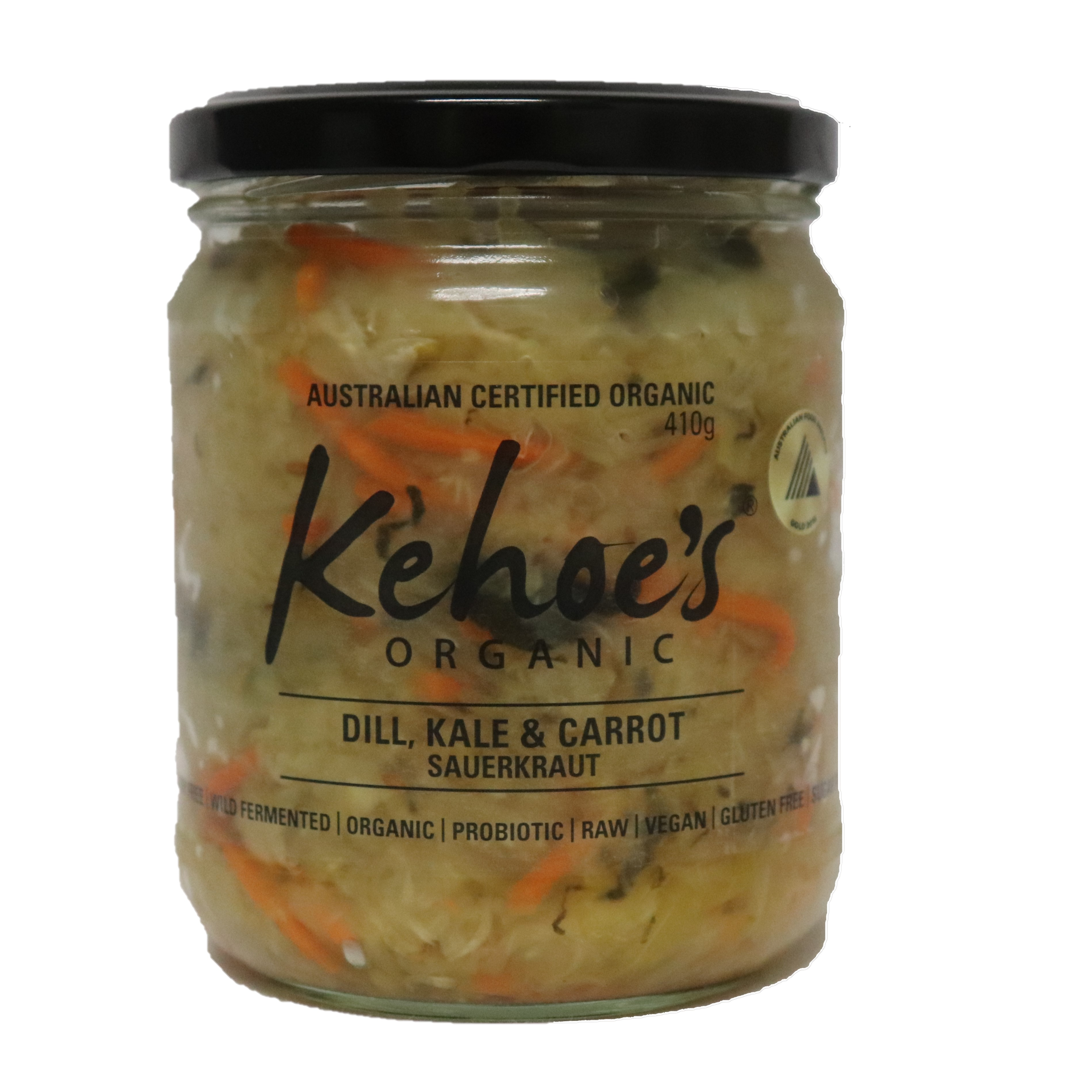 Sauerkraut – Dill, Kale & Carrot 410g
