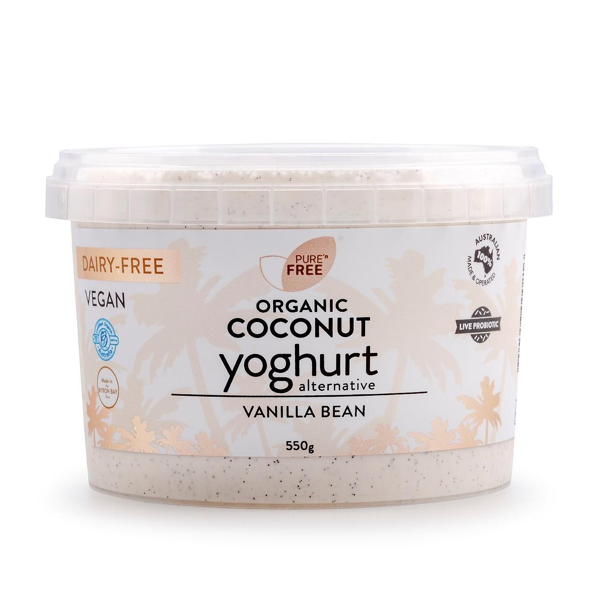 Coconut Yoghurt – Vanilla Bean 550g