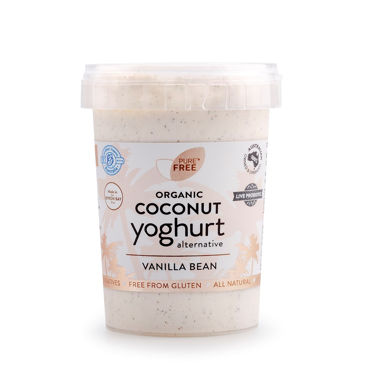 Coconut Yoghurt – Vanilla Bean 200g